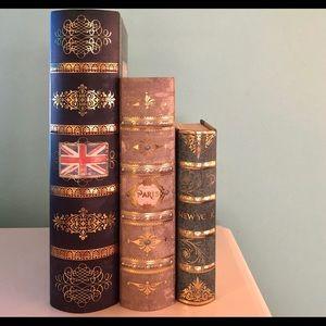 Decorative Storage Books